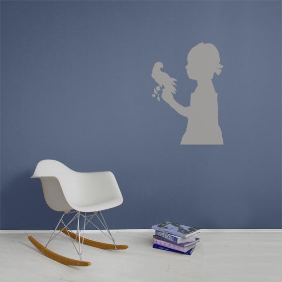 Interieursticker Girl