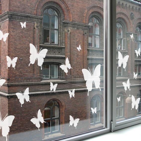 Raamstickers Butterfly Set