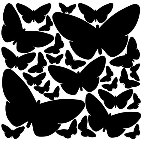 Interieursticker Butterflies