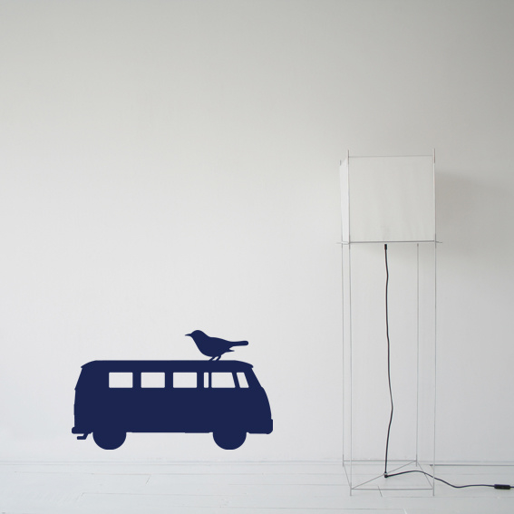 Interieursticker Volkswagen Van
