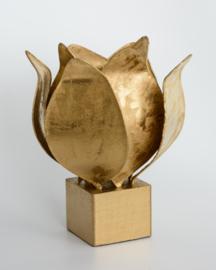 Tulip lamp, goud afwerking #99