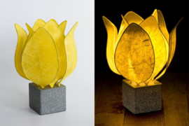 Tulp Lamp - kleur (colour): geel/yellow