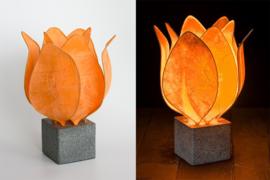 Tulip Lamp, kleur oranje