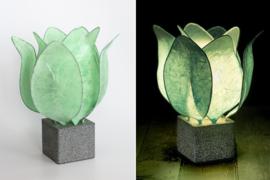 Tulip Lamp, kleur mind groen