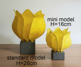 Tulip Lamp, kleur geel