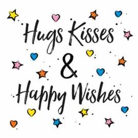 Hugs, kisses & birthday wishes