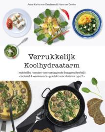 Verrukkelijk koolhydraatarm - Anna-Karina van Denderen & Hans van Deelen