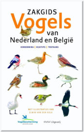 Zakgids Vogels van Nederland en België | Luc Hoogenstein