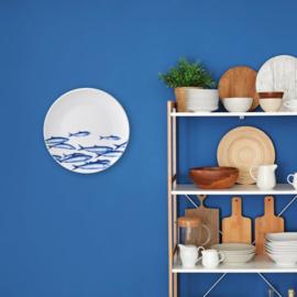 Bord vissen - Heinen Delfts Blauw