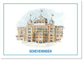 Ansichtkaart Kurhaus Hotel   Studio Scheveningen