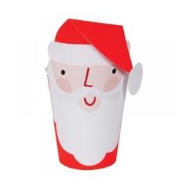 Jolly Santa Bekers (8 stuks) - Meri Meri