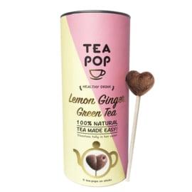 Lemon Ginger Green Tea - Tea Pop