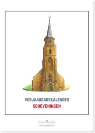 Verjaardagskalender Scheveningen | A4 | Studio Scheveningen