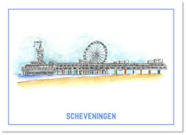 Ansichtkaart de Pier   Studio Scheveningen