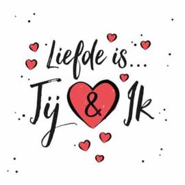 Liefde is jij & ik