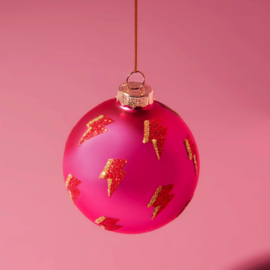 Girl Power Lightning Bolt Bauble | Sass & Belle