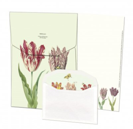 Tulpen van Jacob Marrel briefpapier met enveloppen - Bekking & Blitz