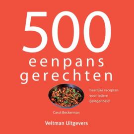 500 eenpansgerechten - Carol Beckerman
