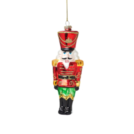 Nutcracker Doll Shaped Bauble | Sass & Belle