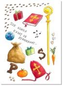 Sinterklaas   Ansichtkaart - Studio Scheveningen