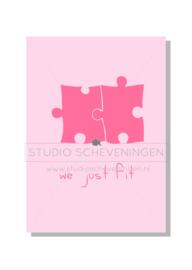 We just fit   Valentijnskaart   Studio Scheveningen