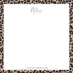 Leopard Notes | Noteblok - Stationery & Gift