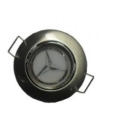 Led spot Mercedes logo