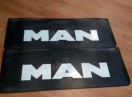 Spatlap MAN letters