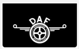 Spatlap daf oud logo