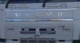 Volvo letters inox