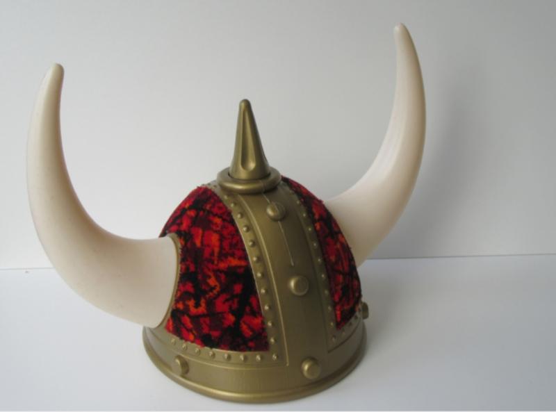 Vikingshelm Deens pluche