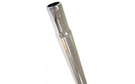 Zadelpen ø25.4  200mm Kaars chroom-staal