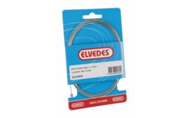 Schakel binnenkabel Elvedes 2250mm RVS Ø1,1mm N-nippel