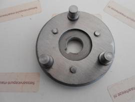 Onderplaat tandwielen voorwielmotor met velgrem