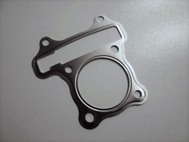 Koppakking QMB 139 / GY6 motor 50cc dun metaal