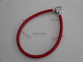 Kabel cijferslot Kinder. Rood 500x12 mm