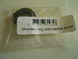 As Borgring Shimano Nexus 6mm zwart