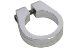 Zadelklem met inbusbout 31.8 mm zilver