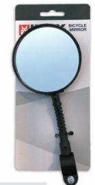 Fietsspiegel rond met montageklem