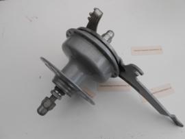 Voorwielnaaf Torpedo / Sachs incl. remankerplaat  36gaats grijs