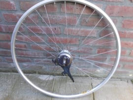 Voorwiel 28 inch. nexus rollerbrake, power modulator, tweedehands