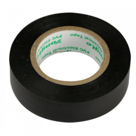 Zenitech isolatietape 15 mm x 10 m zwart