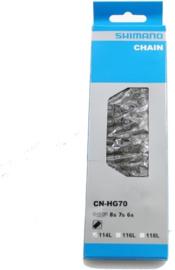 ShimanoCN-HG70 LX/105  6 /7/8sp Ketting