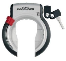 AXA Defender ringslot zwart/zilver