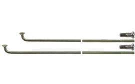 Spaak 14-254 staal excl. nippel