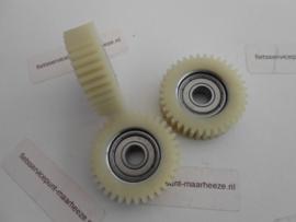 Tandwiel voorwiel motor 36 tands - 38mm - 10mm - 8mm