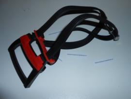 Stelbinder Bibia Ergo met aluminium plaat - zwart