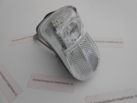 Koplamp 1 led Galaxy incl. battery