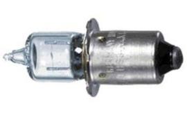 Halogeen lampje met kraag 6v / 2,4 w