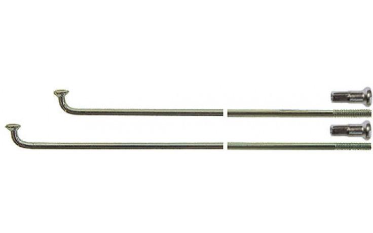 Spaak 14-278 RVS met nippel